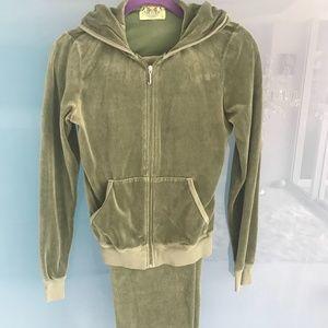 Juicy Couture Suit Dark Green Jacket & Pants